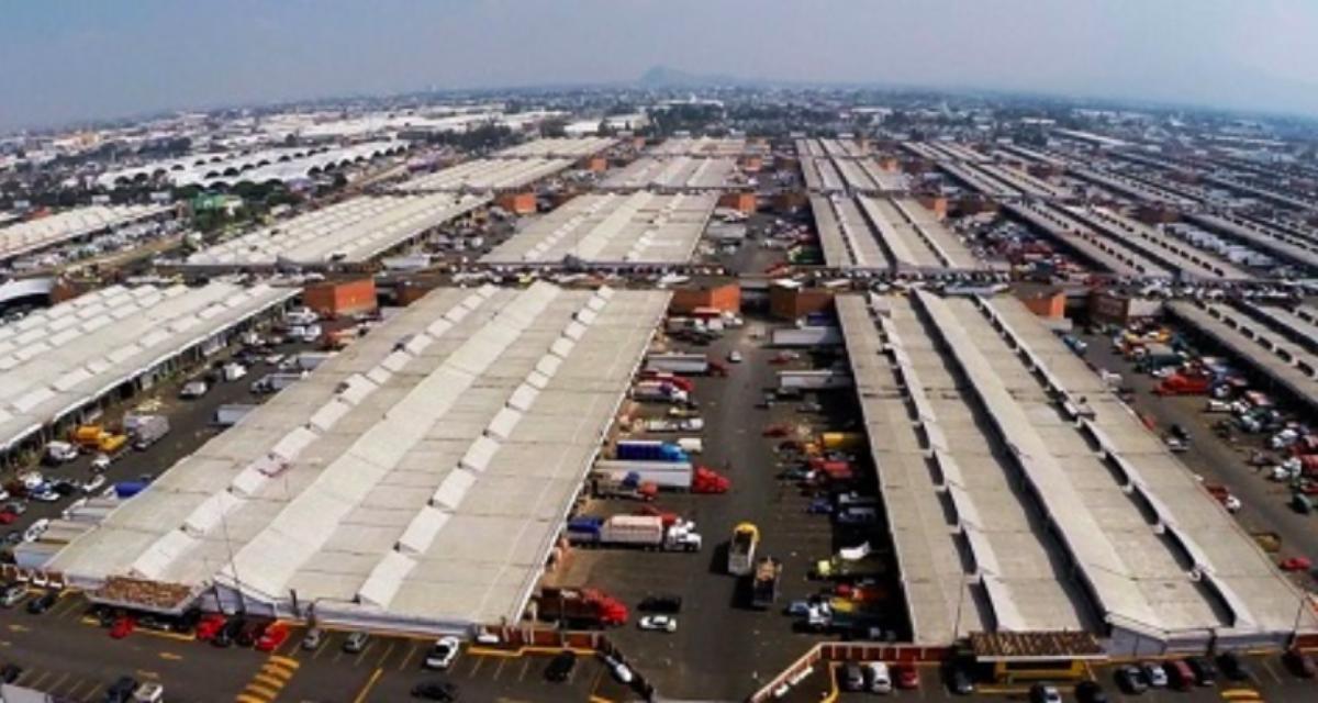 Plataformas digitales chinas ofrecen transporte de carga en la Central de Abasto de la Ciudad de México