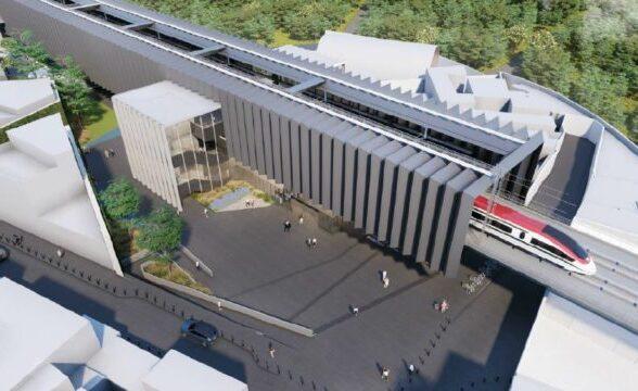 Con 1,281 mdp 'aceleran' obras en tramo CDMX del Tren México-Toluca