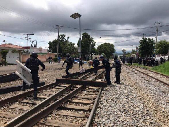 Michoacán concentra 7 de cada 10 bloqueos ferroviarios en el país